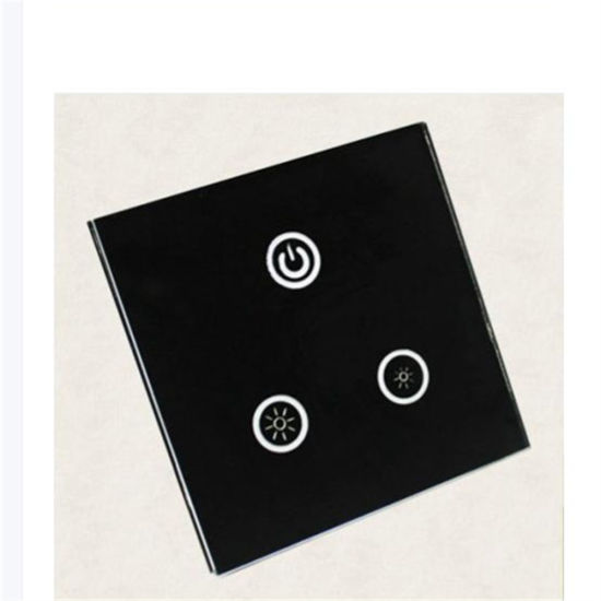 2mm 3mm 4mm 5mm 6mm Clear and Corlored Acid Etched Silkscreen Painted Tempered Touch Switch Wall Glass Plates for Home Automation