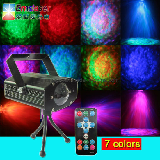 LED Water Ripples Light RGB LED Waves Lights LED Christmas Stage Lighting pictures & photos