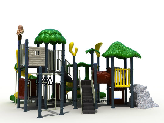 Kaiqi Large Forest Series Children′s Outdoor Playground - Customisation Available (KQ20006A) pictures & photos