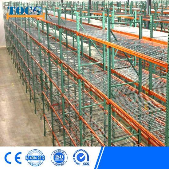 Certified Q235B Adjustable Warehouse Teardrop Rack for Fabric Rolls