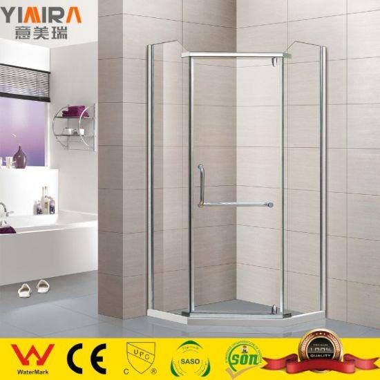 Professional Manufacturer Freestyle Hinge Open Door Bathroom Shower Enclosure