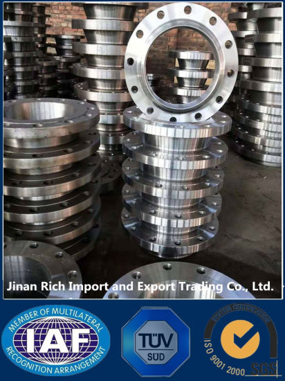 Forged Stainless Steel ANSI B16.5 ASTM A182 F304/316L 150# RF Pipe Flanges Fittings