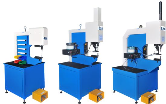 Metal Fastener Insertion Machine 416 Model with Manual