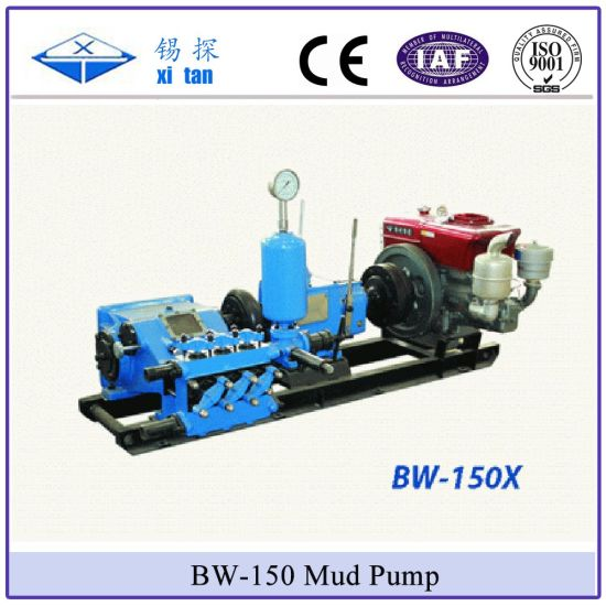 Bw-150 High Pressure Mud Pump Grouting Pump Cement Grout Pump Water Pump pictures & photos
