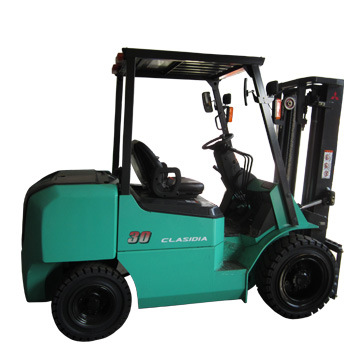 3000kg New Model Clasidia L21 Mitsubishi Diesel Forklift/3t Mitsubishi Forklift pictures & photos