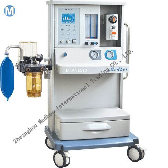 Mobile Multi-Function Hospital Monitor Vaporizer Anesthesia Machine with Ventilator