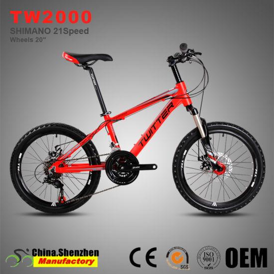 20inch Wheel 21 Speed Disc Brake Aluminum Kids Mountain Bike