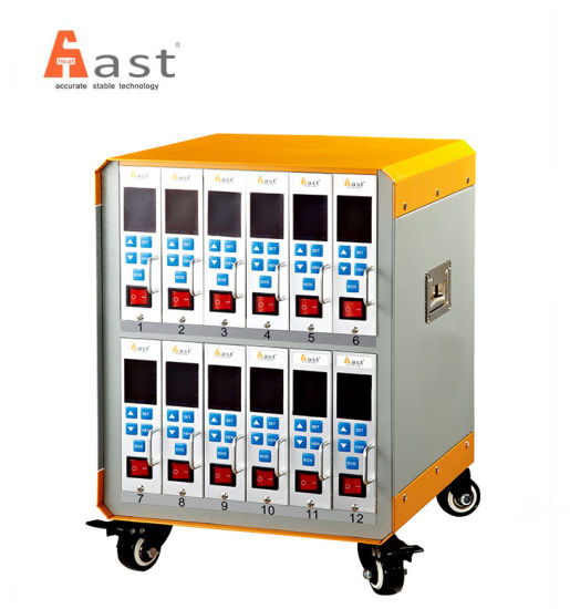 12 Zones Hot Runner Temperature Controller for Plastic Injection