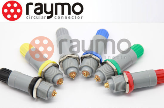 Lemo Plastic P Medical Connector Pag 2 3 4 5 6 7 8 9 10 14 Pin Male Plug pictures & photos