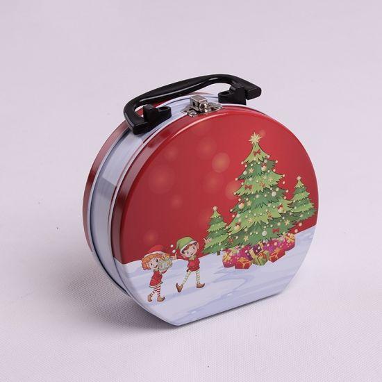 Sets of Six Christmas Gift Tin Boxes