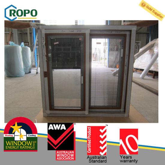 China Australia As2047 Sliding Window Double Glazed Windows