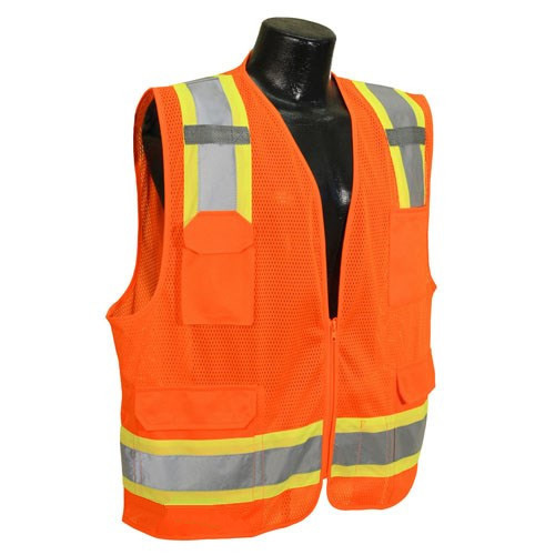 High Vis Vest Safety Workwear Yellow Vest for Construction