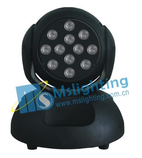 12*10W RGBW 4in1 LED Moving Head Wash Light