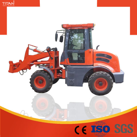 Titan Tl12 Small Tractor Loader with Quick Hitch for Hot Sale