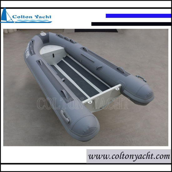 Small Sized Aluminum Rib Inflatable Boat with Single V Hull