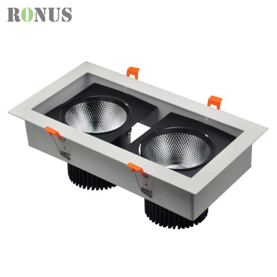 Zhongshan Factory LED COB Grille Light Lamp Ceiling Indoor Lighting Downlight