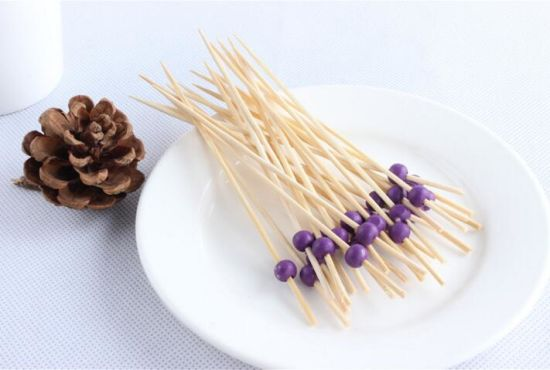 Good-Looking Barbecue Tool Bamboo Fruit Skewer/Stick/Pick (BC-BS1048)