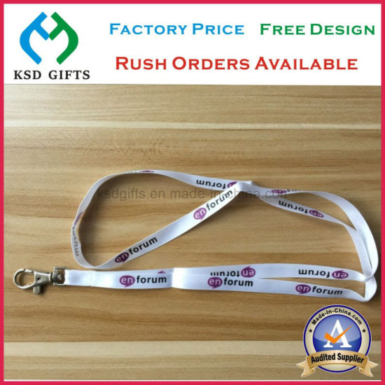 China Customized Forum Meeting Used Satin Strap for VIP ID