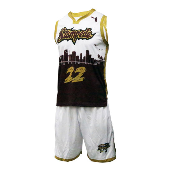 b36b6419eea Healong 2018 New Design Sportswear Sublimation Basketball Jersey pictures    photos