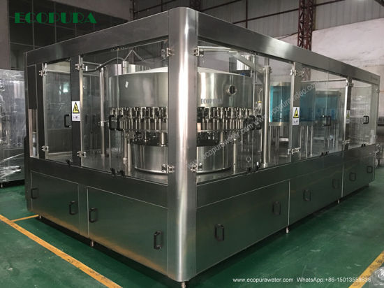 Carbonated Soft Drink Filling Machine / CSD Bottling Machine / Beverage Filling Line