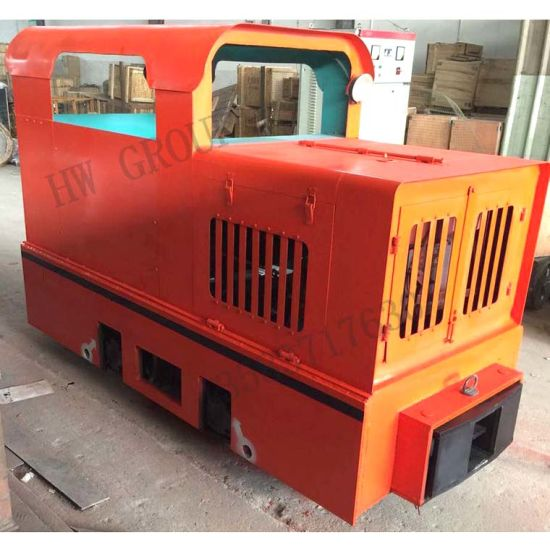 China Subway Tunnelling Used Diesel Engine Locomotive Mining