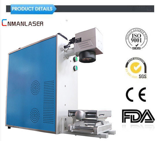 30W Laser Marking/Engraving/Cutting Equipment with Raycus Power for Metal Seal/Pet Tag/Yeti Cup