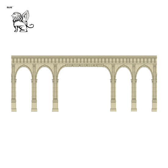 Factory Wholesale Price Custom Size Ornamental Limestone Marble Columns Mcy-53