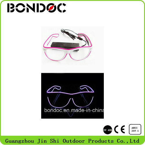 Party Concert LED Glasses Glow Fashion LED Sunglasses pictures & photos