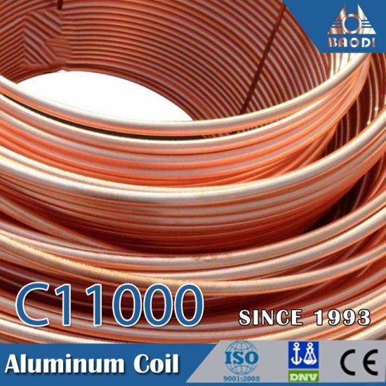 Pancake Coil T2 C10100 Copper Tube Pipe for Water Tube Freezer Heater pictures & photos