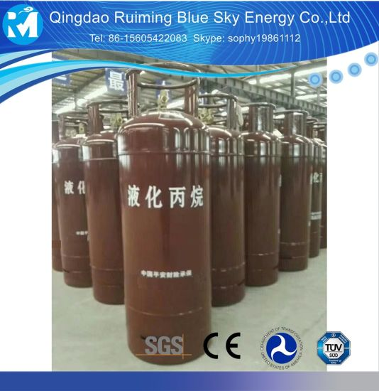 China Refillable Empty Stainless Steel 50kg LPG Cooking Gas