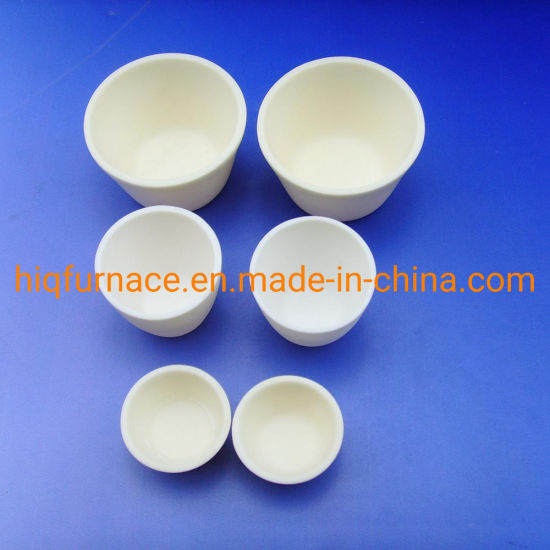 Ceramic Boat Crucible Alumina Ceramic (99.3%) Crucible 50 Ml, Melting Alloy 500ml Alumina Ceramic Crucible with Lid