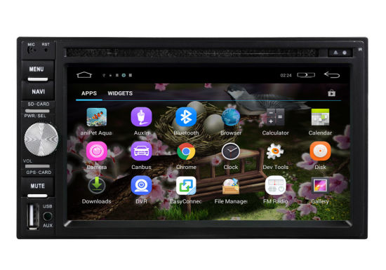 Fulll Touch Screen Universal 6.95 Inch 2DIN New Model Android Car DVD GPS Player pictures & photos