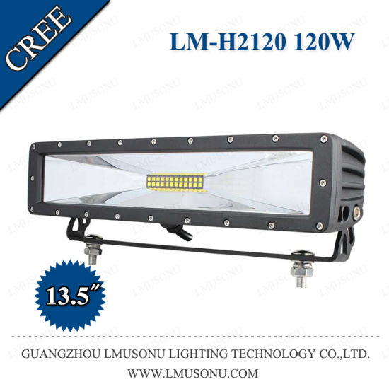 30W 60W 120W CREE Xte 5W Straight LED Light Bars