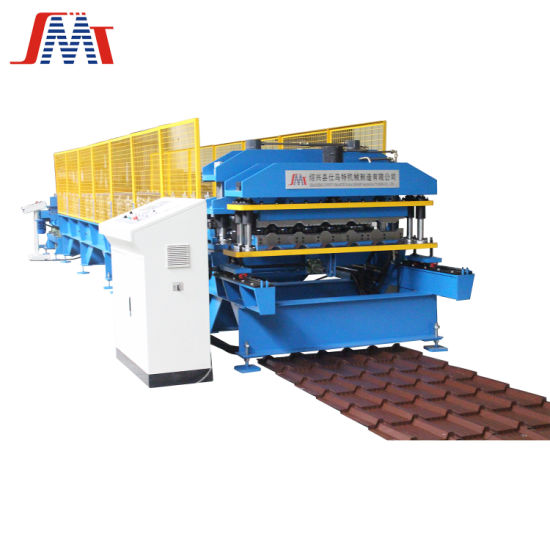 Popular Steel Profile Glazed Tile Roof Panel Cold Roll Forming Machine Factory Price