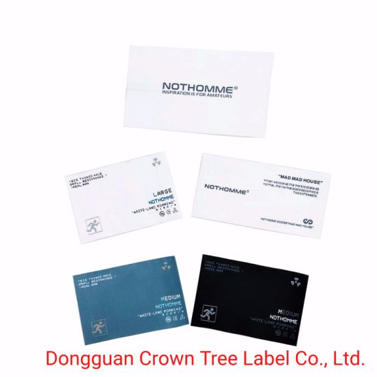 Wholesale High Density Customized Logo Design Woven Label for Garment Label Accessories