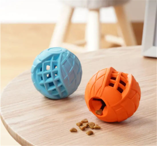 Treat Dispensing Eco-Friendly Rubber Long-Lasting Pet Dog Toys