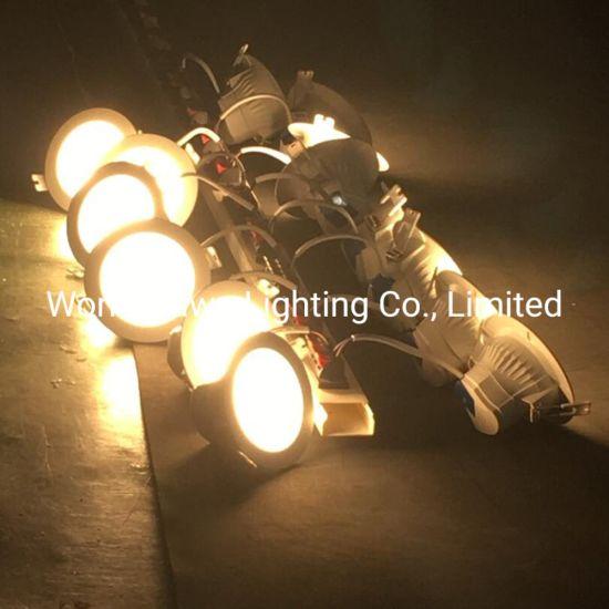 Recessed Exhibition Hall Hotel High Lumen 6W SMD2835 Light Beam 120 Degree Enconomic LED Downlight Light