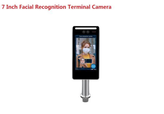 1080P 7 Inch Face Recognition Access Control Terminal Binocular IP Camera