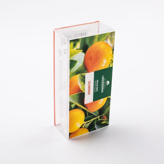 Food Grade Custom Logo Clear Pet Candy Packaging Plastic Box
