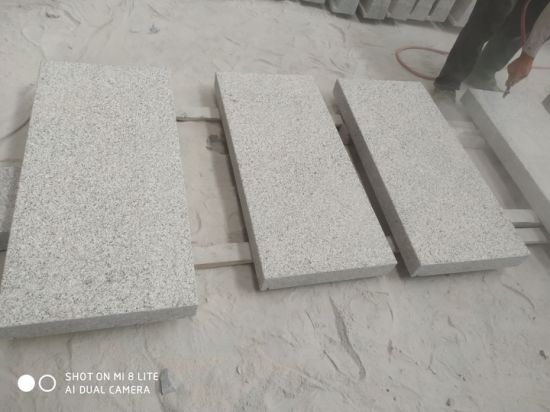 Chinese Cheap G603 Granite Grey Tile Stair Stone and Kerbstone Stone