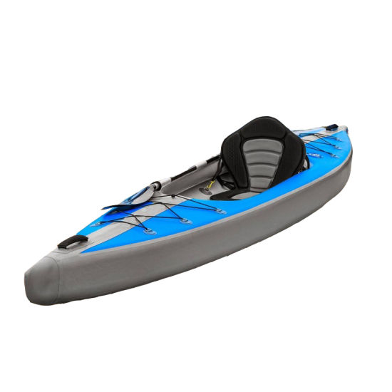 Inflatable Drop Stitch Kayak Canoe Advanced Elements Airvolution 1 2 Person Dual Chambers China Factory