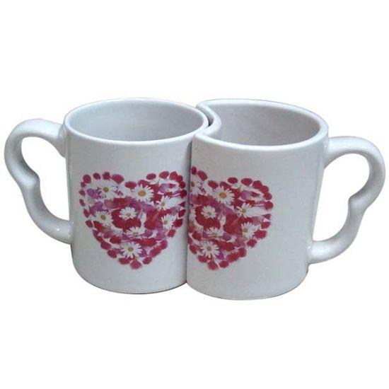 Couple Valentine Design Ceramic Mug of Qlb007