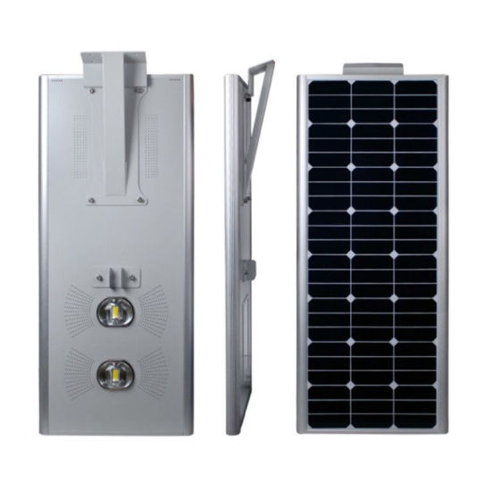 All in One LED Solar Lamp Street Light 80W with CCTV Camera