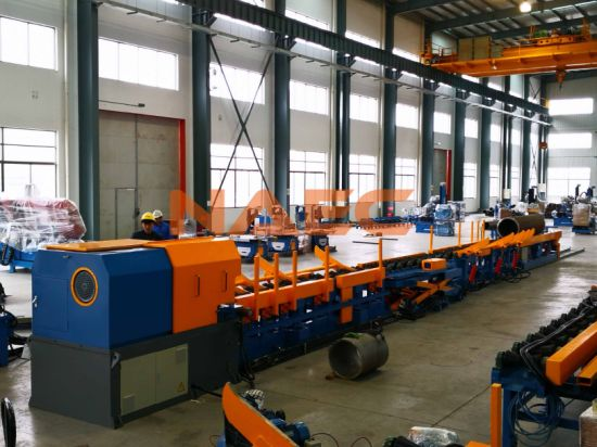 Auto High Speed Pipe End Beveling Machine