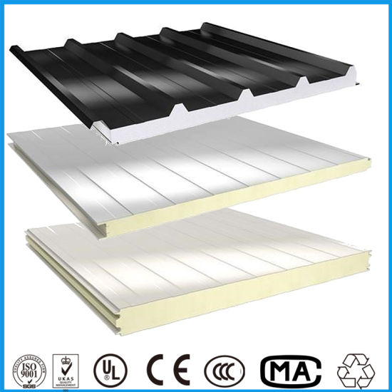 Wall Cladding Insulation Board SIP Panel Cold Room Rock Wool/ PU /EPS Sandwich Panels Roofing Panel