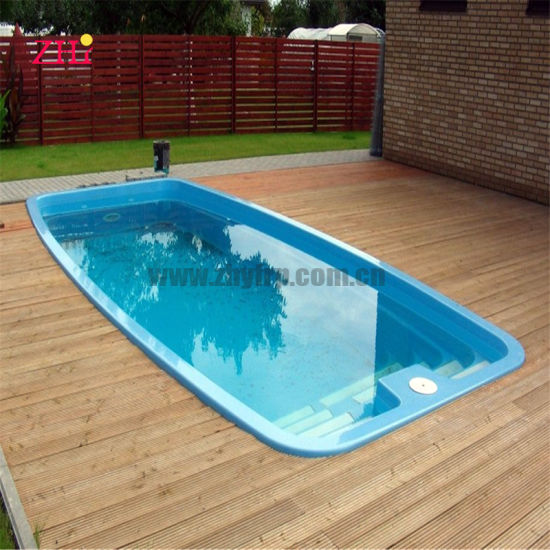 Cheap Price Shipping Container Fiberglass Swimming Pool Inground