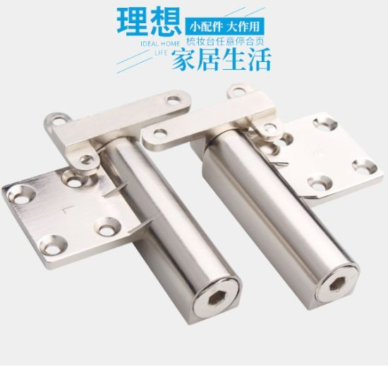 Dressing Table Hinge Invisible Folding Storage Hinge Hardware Accessories