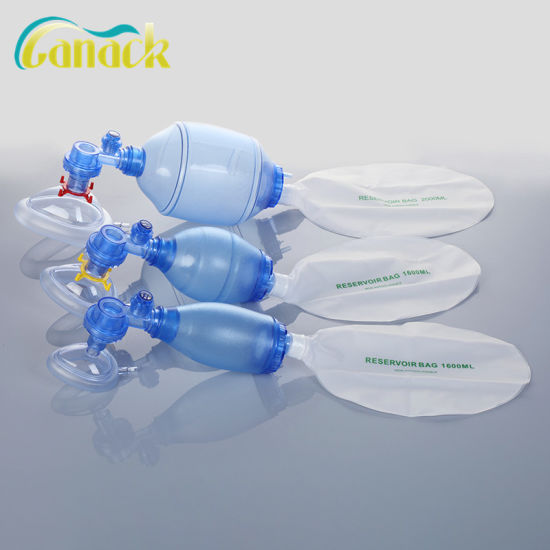 Medical Consumable Silicone Manual Resuscitator Medical Products