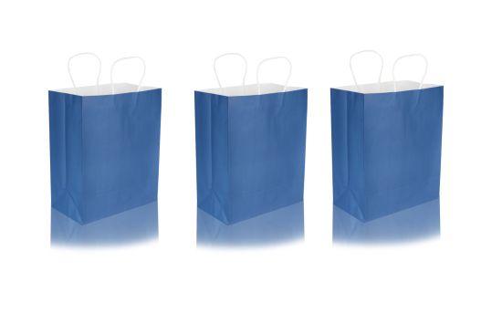 Wholesale Luxury 1-15 Colors Kraft Paper Gift Paper Bag