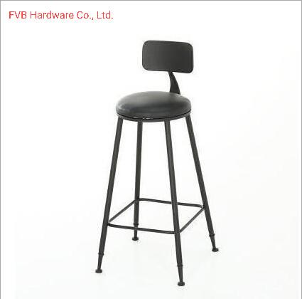 China Metal High Top Bar Stool Chairs